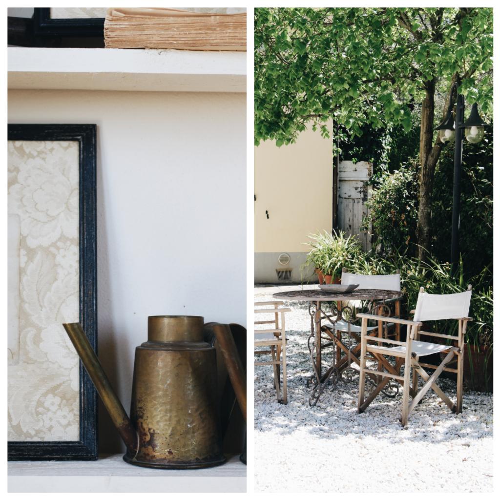 interiors, giardino, valdirose, toscana,