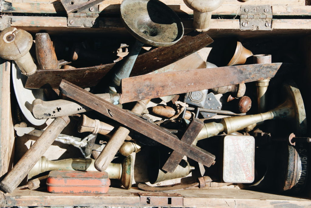 oggetti, mercato vintage, toscana