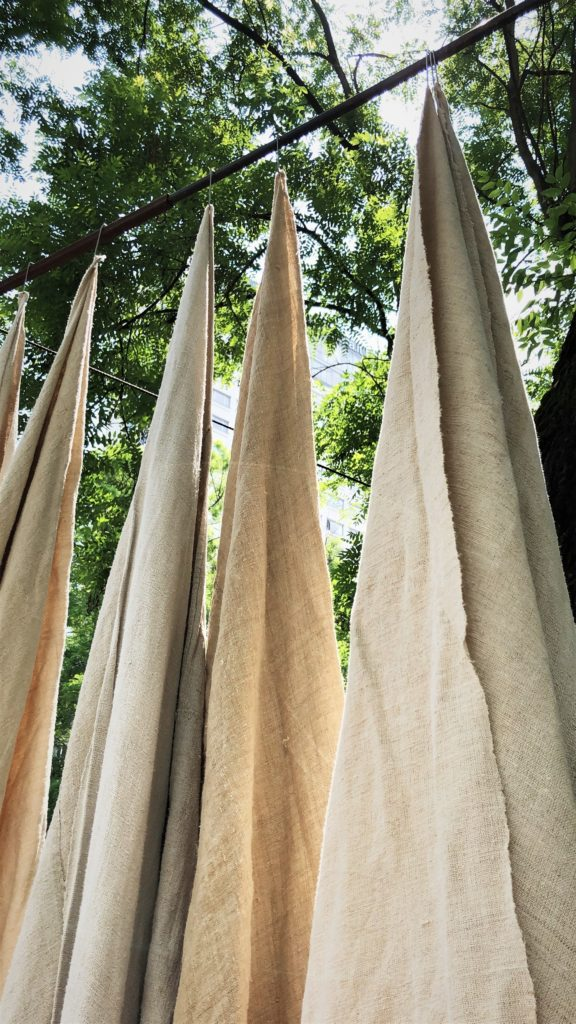 tessuti, lino,allorigine, milano, outdoor, giardino,arredo