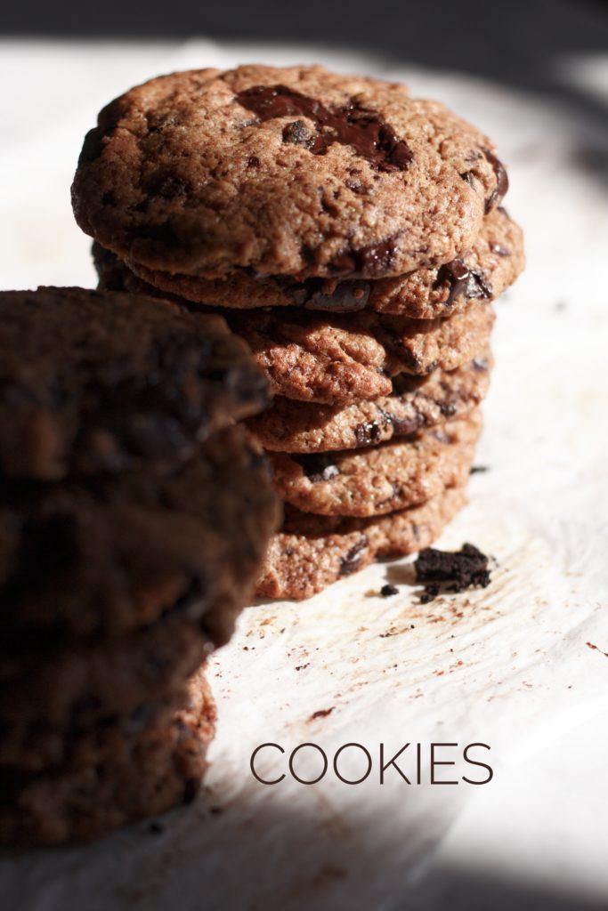 biscotti, cookies, cioccolato ricetta accade in tavola