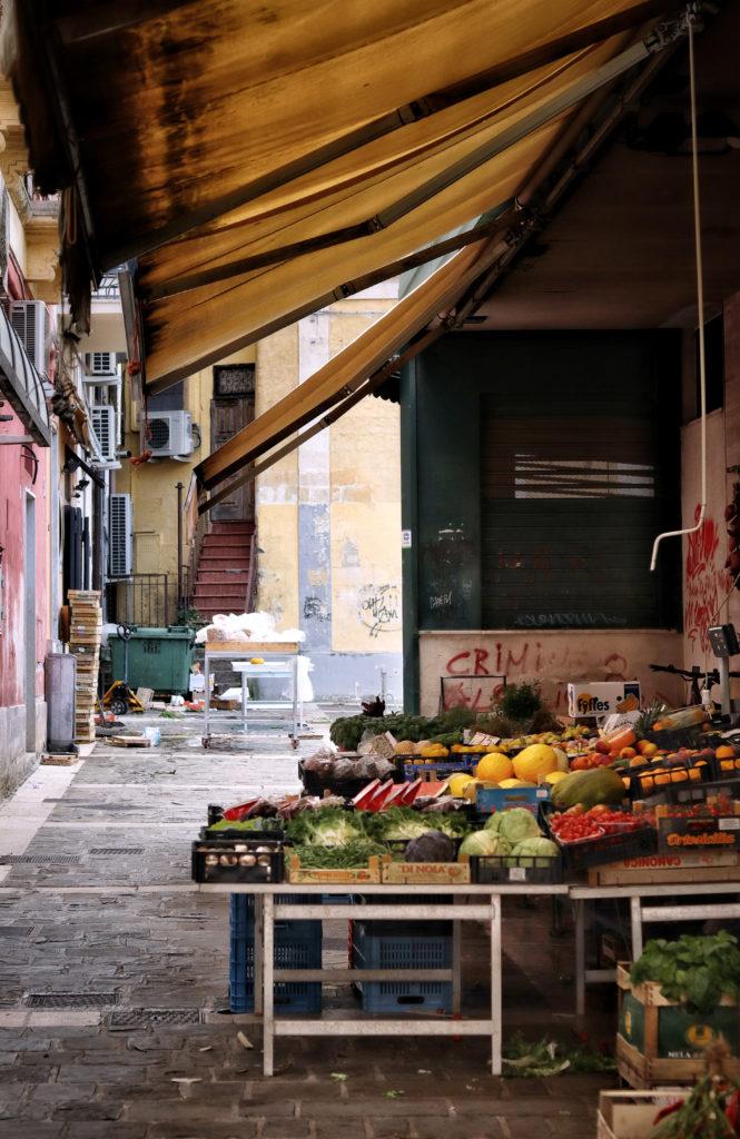 mercato, frutta, verdura, insalata, fichi