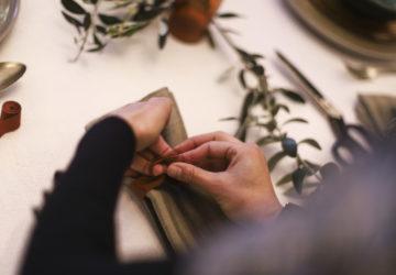 tavola, table setting, workshop